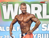2020 World, Saturday - Men's Physique 182cm