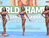 2020 World, Sunday - Master Bikini-Fitness Overall