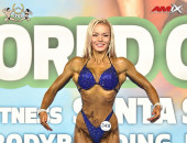 2020 World, Saturday - Bodyfitness 168cm plus