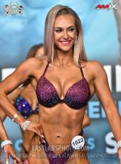 Bikinifitness 164cm - 2019 European Championships