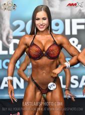 Bikinifitness 160cm - 2019 European Championships