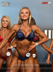 Bikinifitness 169cm - 2019 European Championships
