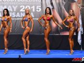 2015 EBFF Championships - Bikini over 172cm