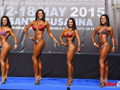 2015 EBFF Championships - Bikini Overall