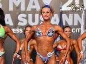 2015 EBFF Championships - Bodyfitness over 168cm