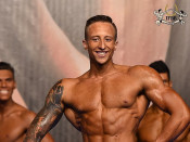 2015 EBFF Championships - Junior M Physique over 175cm