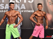 2015 EBFF Championships - Junior M Physique Overall