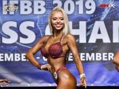 2019 WFC - Bikini-Fitness 162cm