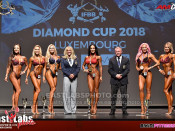 2018 Diamond Luxembourg, Bikini 169cm plus