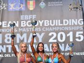 2015 EBFF Championships - Junior Bikini 166cm