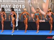 2015 EBFF Championships - Bodyfitness 168cm