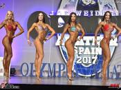 2017 Olympia Spain - Bikini 166cm