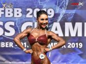 2019 WFC - Bodyfitness 163cm