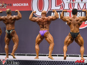 2015 Olympia Am Moscow - BB 90kg Prejudging
