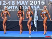2015 EBFF Championships - Junior Bikini 160cm