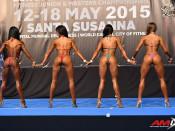 2015 EBFF Championships - Bikini 163cm
