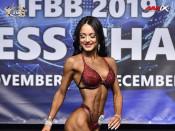 2019 WFC - Bikini-Fitness 160cm