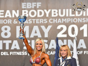 2015 EBFF Championships - Master BFitness Overall