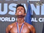 2015 EBFF Championships - Mens Physique 170cm