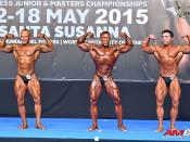 2015 EBFF Championships - Bodybuilding 70kg