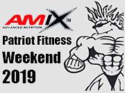 Predpredaj vstupeniek - 2019 AMIX Patriot Fitness Weekend