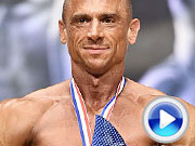VIDEOKLIP - Overall Classic Physique, 2018 World Master Championships