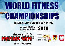 2018 IFBB World Fitness Championships - MENS