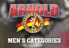 2019 Arnold Classic Europe - Men's Categories