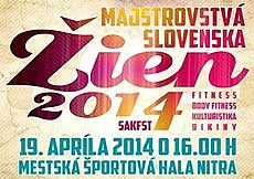 2014 Majstrovstvá Slovenska vo fitness žien, Nitra