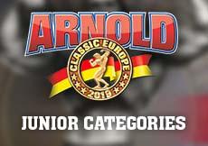 2019 Arnold Classic Europe - Junior Categories