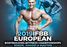 Backstage 2019 IFBB European Championships