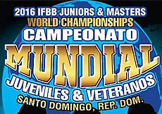2016 IFBB World Championships Juniors