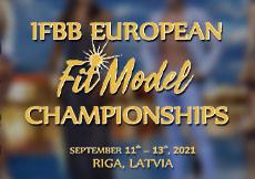 2021 European Fit Model Championships, Riga