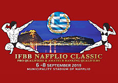 2019 IFBB Nafplio Classic