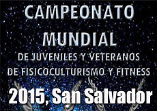 2015 IFBB World Junior Championships, Salvador