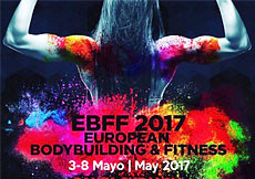 2017 IFBB/EBFF European championships, Spain