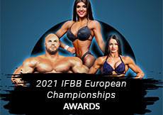 2021 IFBB European - AWARDS