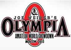 2015 Olympia Amateur World Showdown, Moscow, Russia