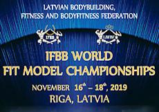 2019 IFBB World FitModel Championships Riga