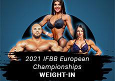 2021 IFBB European - weight-in