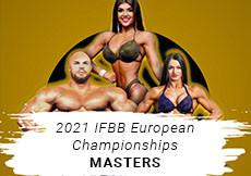 2021 IFBB European - Masters