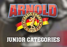 2019 Arnold Classic Europe - Junior Categories