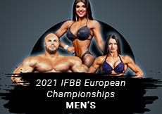 2021 IFBB European - Men's