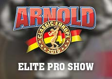 2019 Arnold Classic Europe - Elite PRO