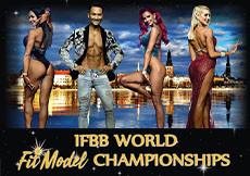 2020 World FitModel Championships Riga