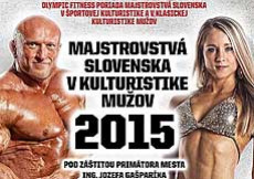 2015 Majstrovstvá Slovenska v kulturistike mužov, Dubnica