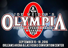 2016 Olympia Weekend, Las Vegas