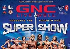 2014 Toronto PRO Supershow, Kanada