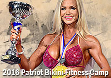 2016 Patriot Bikini Fitness Camp - Leto