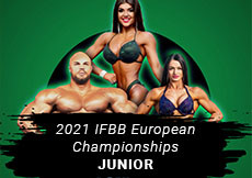 2021 IFBB European - Junior